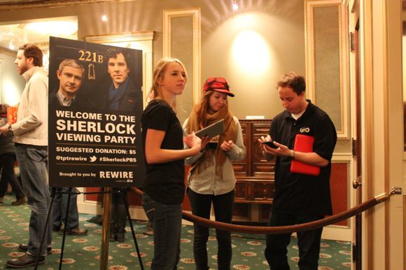 "Rewire's fabulous ""Sherlock"" preview party, courtesy Rewire"