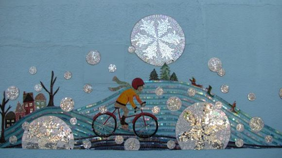 Bryant Avenue Mosaic created by Twin Cities artist Sharra Frank
