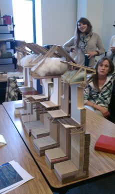 College of Design students working on Net Zero house, courtesy Dan Handeen