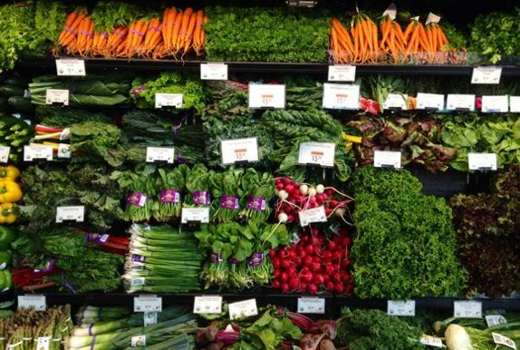 Urban Organics produce at the Lund's Penfield, courtesy Urban Organics