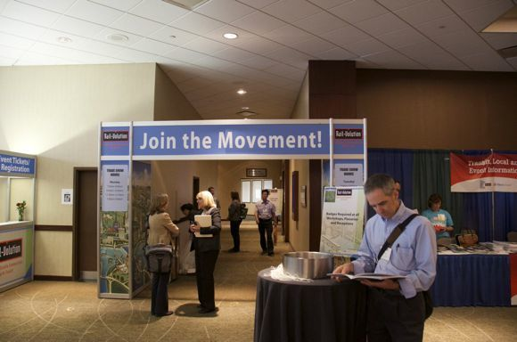 Photo courtesy of Railvolution