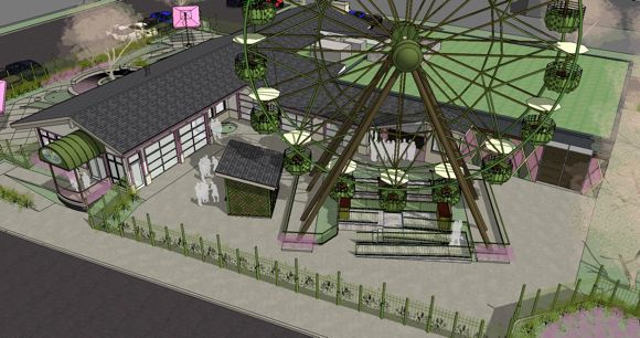Rendering of Betty Danger's courtesy Firm Ground Architects and Engineers