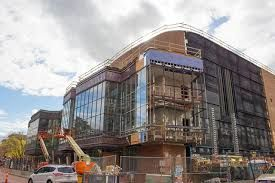 The Ordway's new concert hall under construction