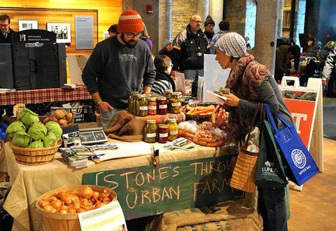 Mill City Winter Farmers Market, photo courtesy Mill City Times