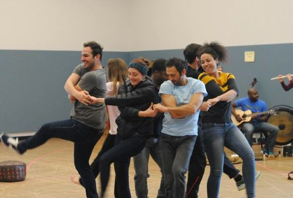 In rehearsal for Pericles