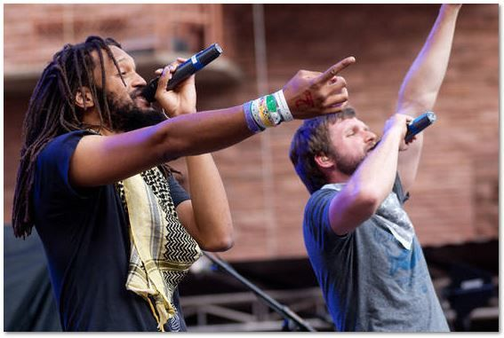 Detour Flobots performing in Trinidad