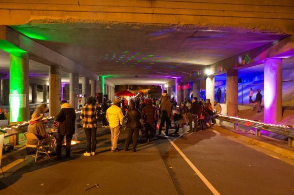 Fairview Underpass Party