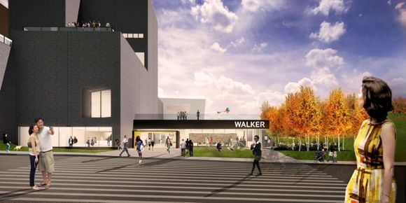 Walker Art Center's new entrance a cultural and community gathering spot