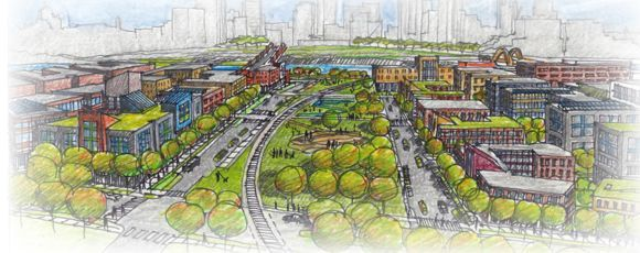 West Side Flats' Proposed Greenway
