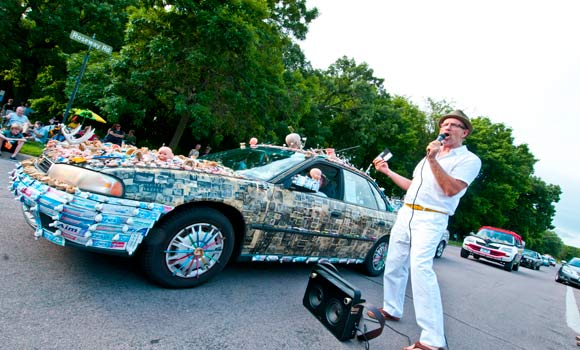 Art Car Parade Around Lake Harriett