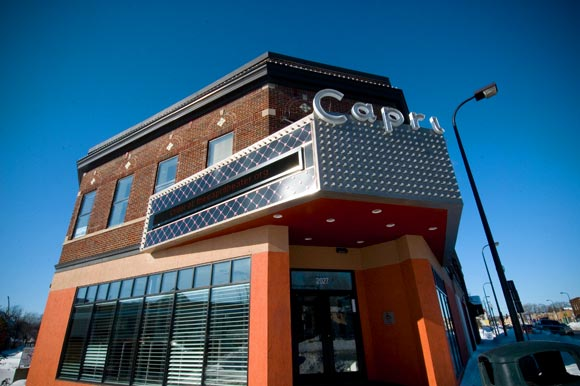 Capri Theater in North Minneapolis