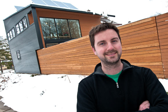 Daniel Yudchitz and his Rondo house