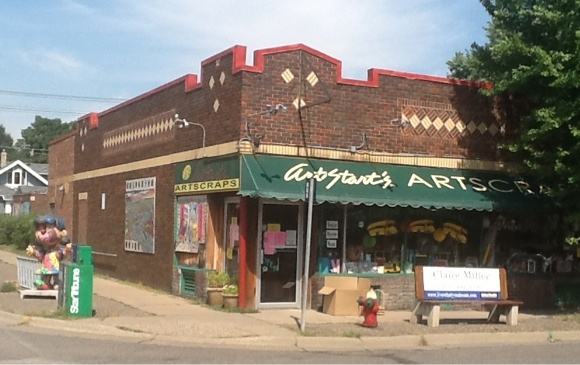 ArtScraps reuse shop in Saint Paul