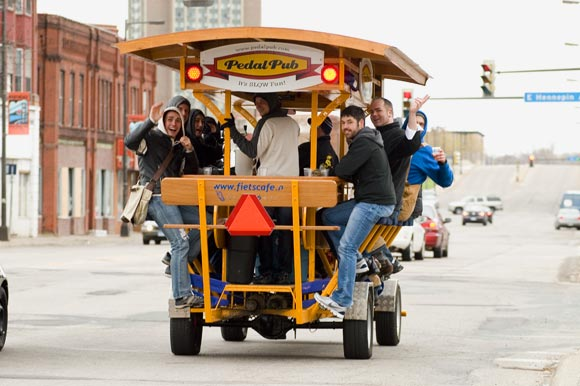 The Pedal Pub on the Move
