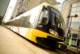 light rail in minneapolis