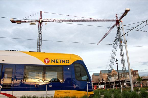 Planners attribute $2.5 billion in new development to the Green Line, photo by Kyle Mianulli